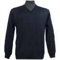 Pull Berac Homme COL V Point Mousse